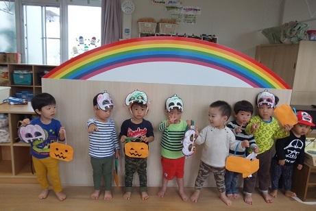 ハロウィン2歳児
