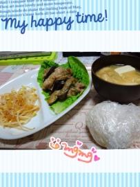 8日の夕飯