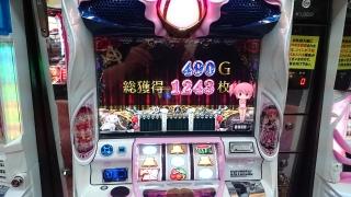 2017-2-7松橋つる5スロまどか2 (8)