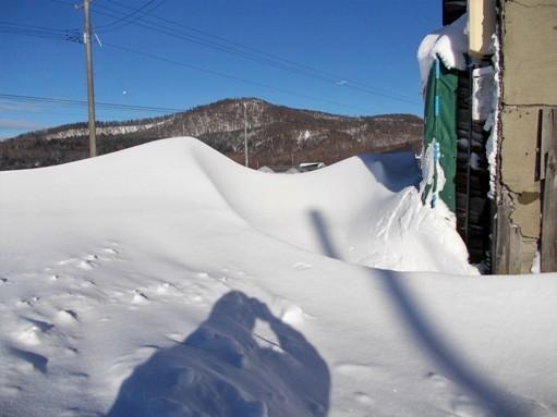 20161224_突然出現した雪山