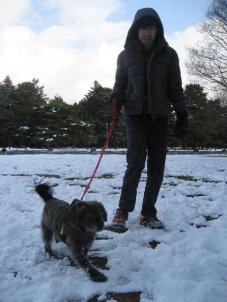 170115雪の日の御所さんぽ⑤