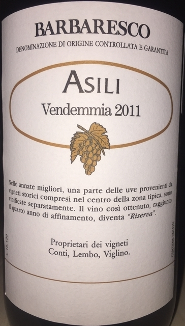Barbaresco Produttori del Barbaresco Asili Reserva 2011 Part2