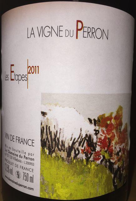 Les Etapes La Vigne du Perron 2011