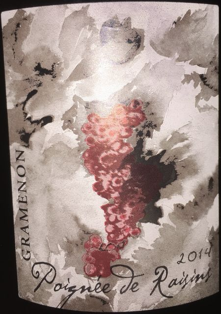 Cotes du Rhone Domaine Gramenon 2014 part1