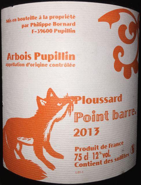 Point Barre Ploussard Philippe Bornard 2013