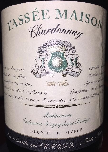 Tassee Maison Chardonnay