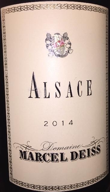Alsace Marcel Deiss 2014