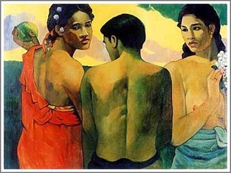 『タヒチの3人』
