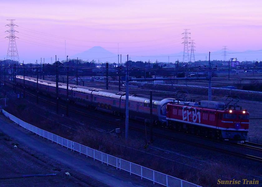 カシオペア EF8195 富士山