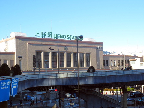080上野駅から
