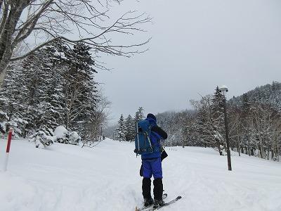 藻琴山キャンプ場(冬)