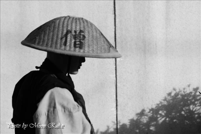 瑞応寺の寒行托鉢 雲水(修行僧)
