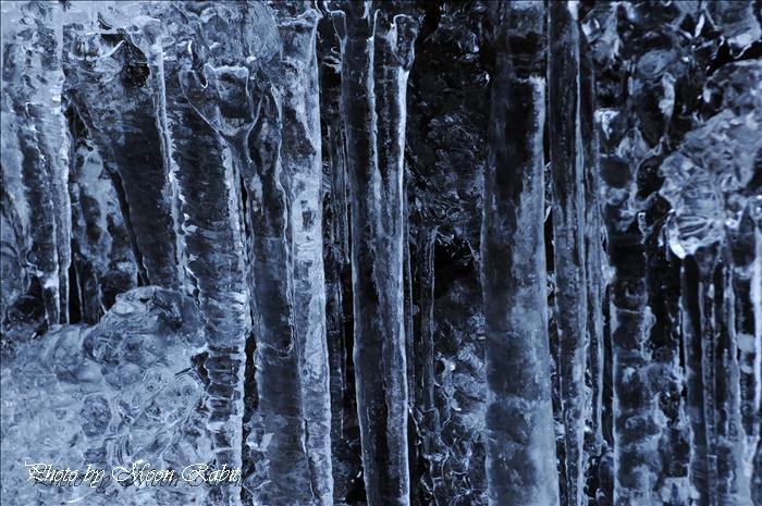 氷瀑 白猪の滝
