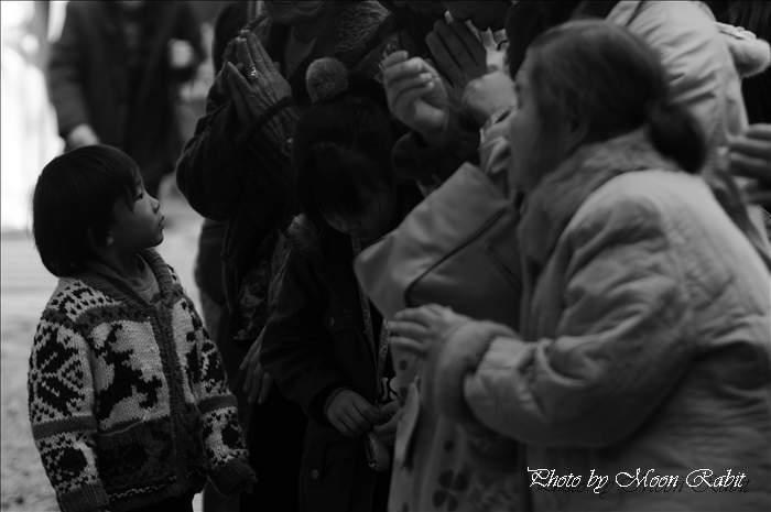 初詣のこどもたち 伊曽乃神社