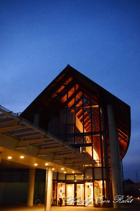 西条市総合福祉センターの夜景