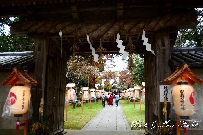 元旦の石岡神社