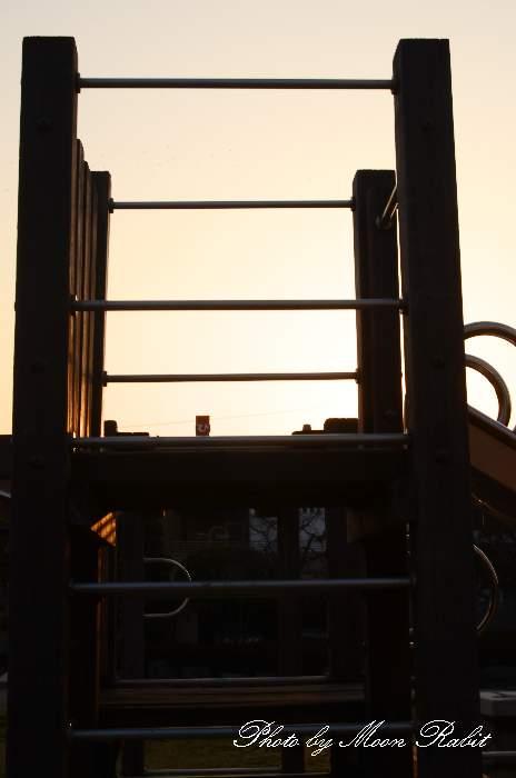 弁財天公園の滑り台