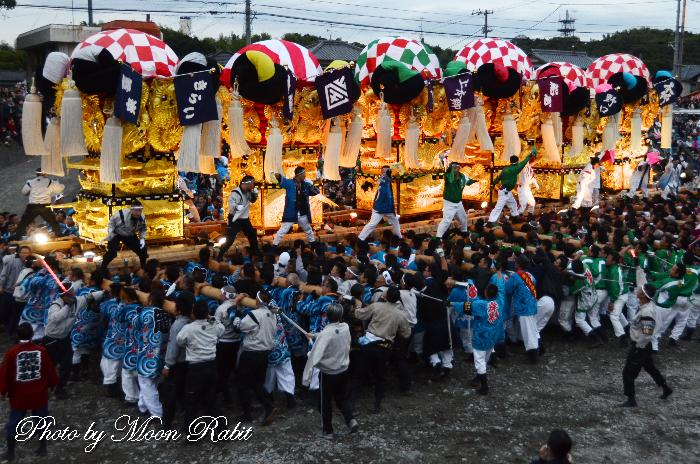 飯岡本郷太鼓台 飯積神社例大祭