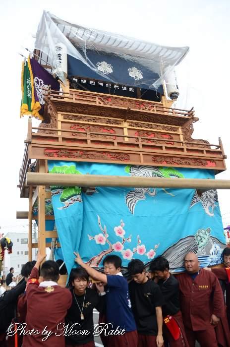 今在家屋台(だんじり) 三保神社祭礼