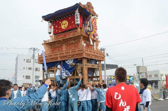 親善会屋台(だんじり) 鶴岡八幡神社祭礼