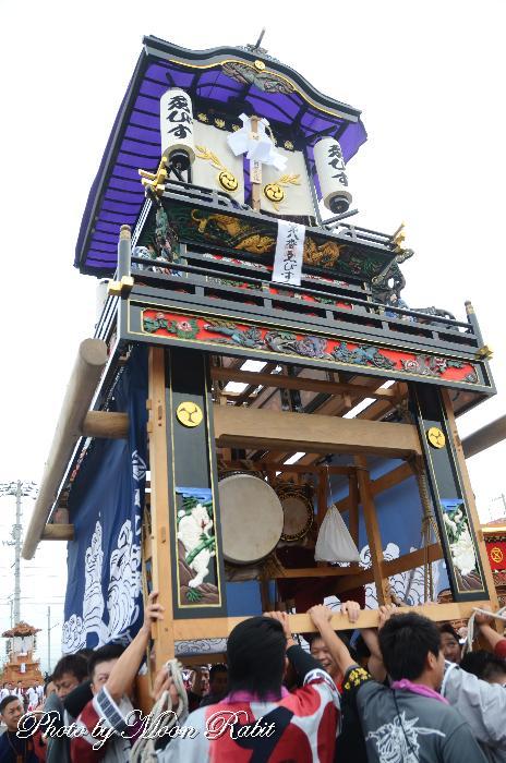 三津屋えびす会屋台(だんじり) パルティ・フジ東予店かきくらべ