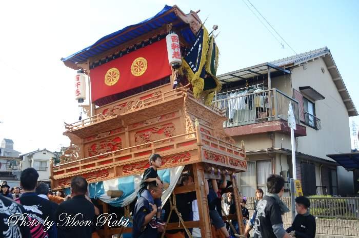 風伯神社祭 百軒巷だんじり(屋台)