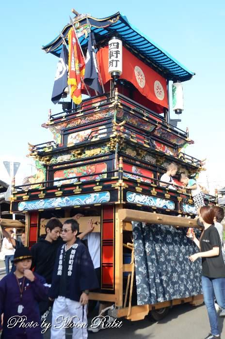 風伯神社祭 四軒町だんじり(屋台)