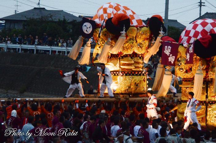 八幡太鼓台 飯積神社祭礼