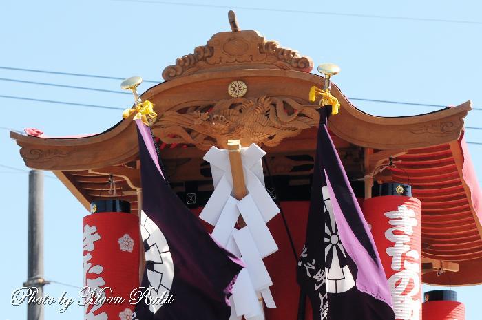 破風・天幕 北之町上組屋台(だんじり)