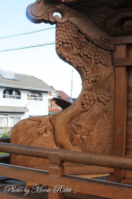 隅障子 北之町上組屋台(だんじり)