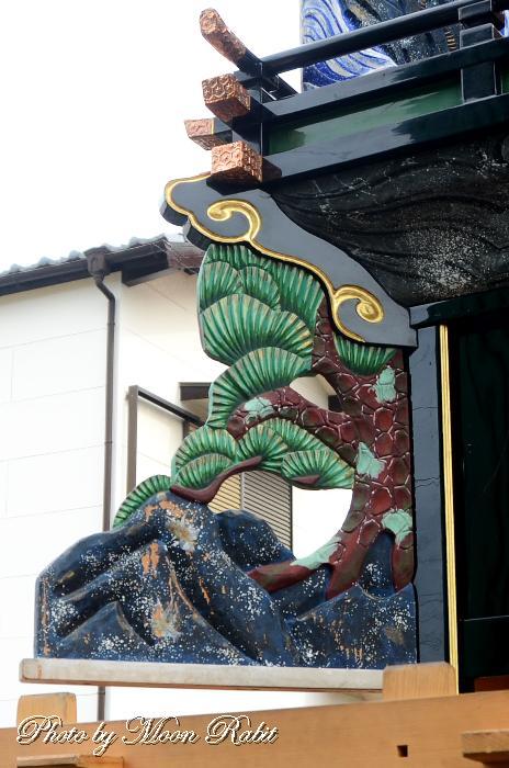 隅障子 松之巷屋台(だんじり)