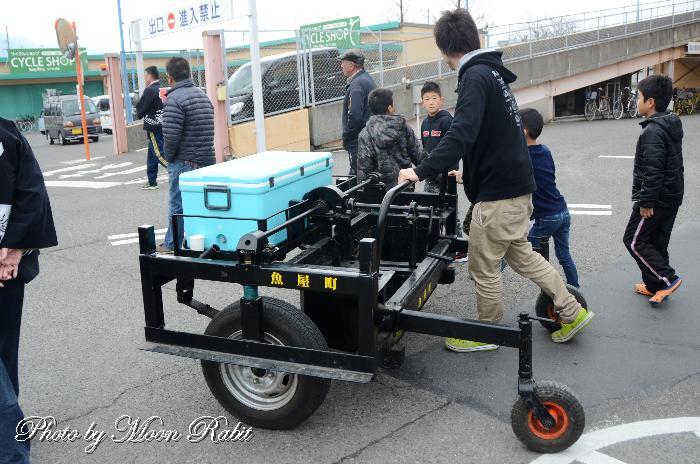 魚屋町屋台(だんじり) 台車