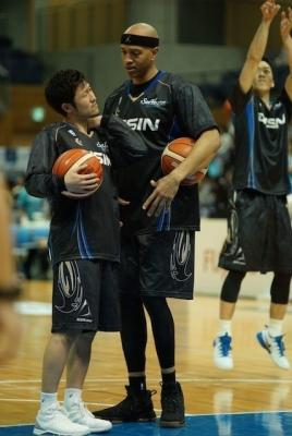 JR桜木選手と橋本選手