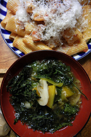 blog Cooking, Lunch, Rigatoni with tomato salad & Seaweed Soup_DSCN3196-10.16.16.jpg