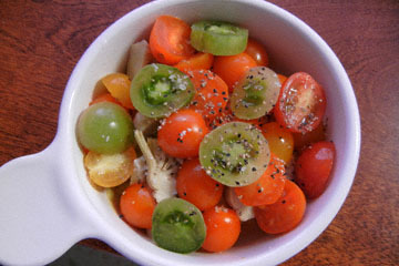 blog Cooking, Lunch, Tomato Salad with Artichoke_DSCN3168-10.13.16.jpg