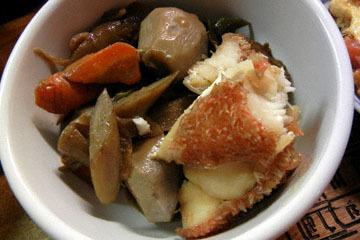 blog Cooking, Dinner, Maguro Dukedon, Akauo Nimono, Eggs & Tomato, Hijiki & Seaweed Soup_DSCN3178-10.14.16.jpg