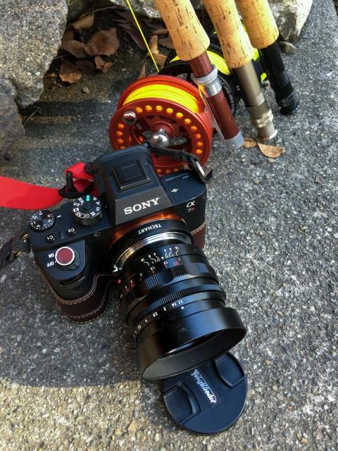α7RⅡ + LM-EA7 + Voigtlander NOKTON 50mm F1.1