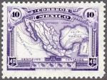 メキシコ地図(1923)