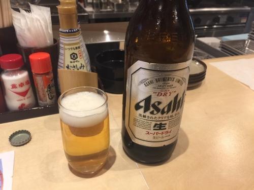 富士一新世界激安串かつ大衆酒場大瓶