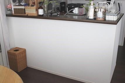 キッチンカウンター下 インテリア用マスキングテープ (1)