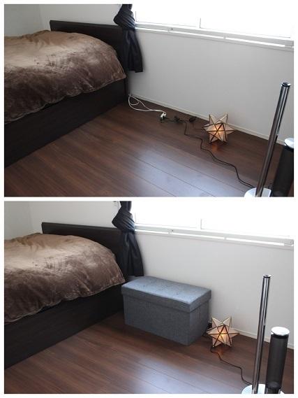 アイリスオーヤマ 収納スツール寝室編  (4)