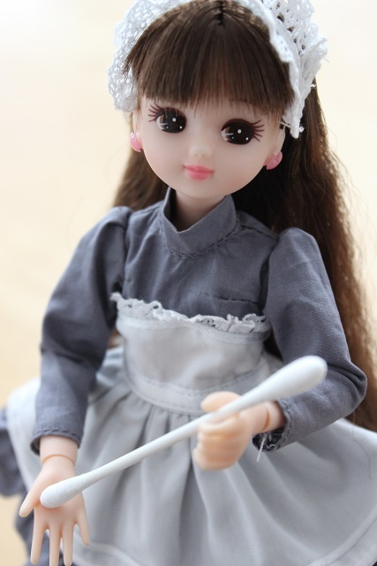 加湿器のお掃除 リカちゃん (1)