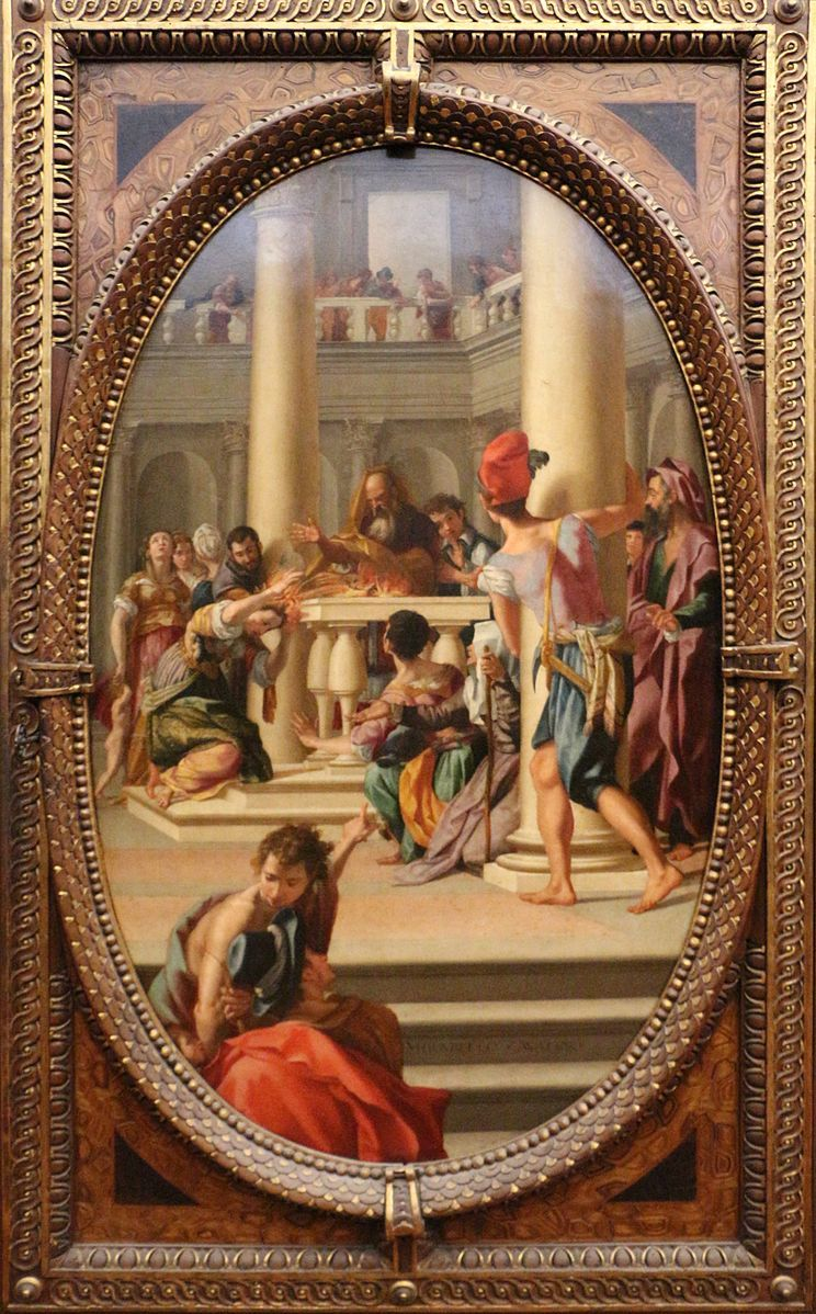 祭壇のラヴィーニア