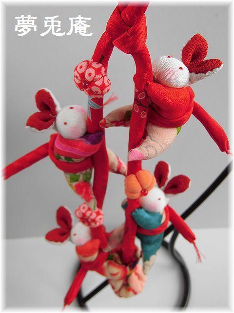 うさぎ吊り飾り (4)