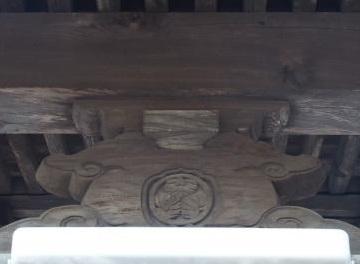 酒々井市本佐倉・清光寺本堂の蟇股
