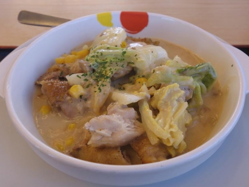 鶏と白菜のクリームシチュー