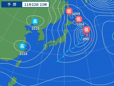 yahoo天気図