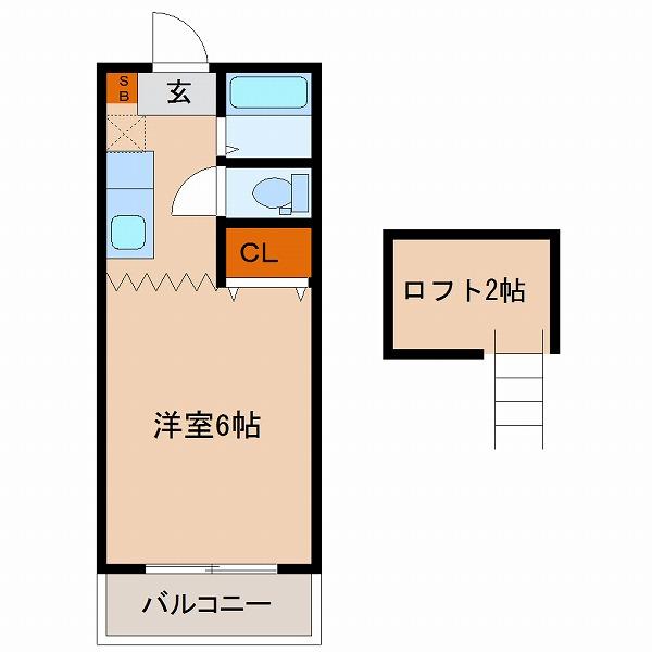 A-STEP祗園103・106(1K+ロフト)