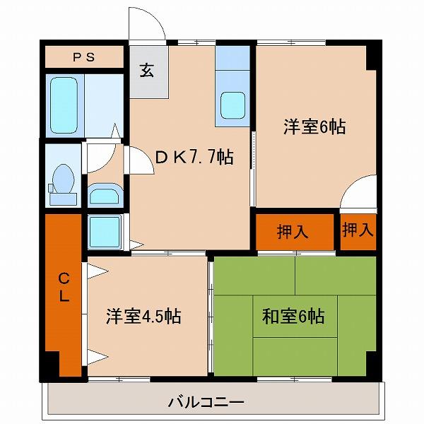 住吉コーポ(A・C・D号室)