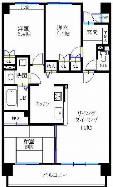 サーパス宮崎駅東1205